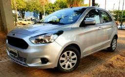 Aceita Troca Ford KA SE 1.0 Flex Baixo Km - 2015