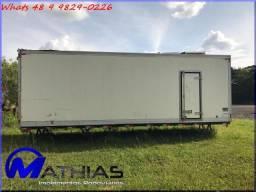Furgão refrigerado para caminhão truck seminovo Mathias Implementos