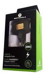 Carregador P/ Celular Motorola Turbo Similar - Mega Infotech