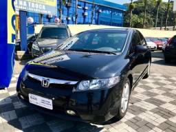 Honda civic 2007/2008 1.8 lxs 16v flex 4p automático em Joinville - 2008
