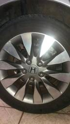 Troco roda honda civic aro 16