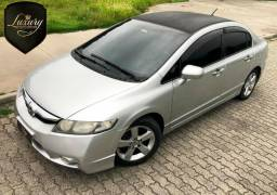 Honda Civic LXL Automático +Couro+Multimídia R$24.999,99 - 2009
