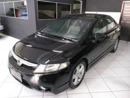 Honda Civic LXS Aut + Couro - 2007