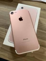 Iphone 7 32g Rose Impecável