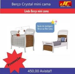 Berço mini cama crystal