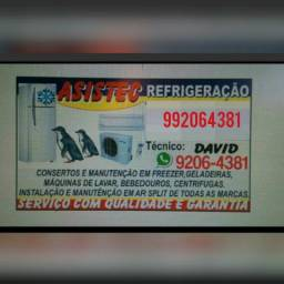 Serviços de consertos a domicio Asistec Refrigeração