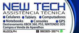Manutenção de aparelhos celulares e Vídeos Games