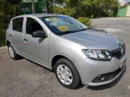 Renault Sandero Expression 1.0 12V. Flex * 2018, Baixa km - 2018