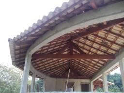 Telhado colonial - pra sua linda área de lazer. 1654456