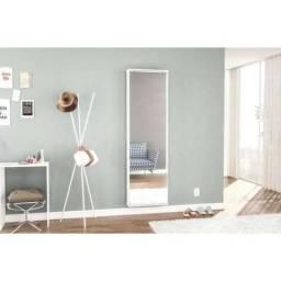 Sapateira Itabuna 12 Pares com Espelho Móveis Politorno Branco - CestaPlus