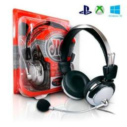 Headset Fone De Ouvido P2 Gamer Microfone Ps3 ps4 pc xbox Sm-301-mv