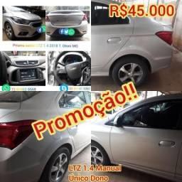 Chevrolet Prisma Sedã LTZ 1.4 flex 8v 106Cv 2018 - 2018