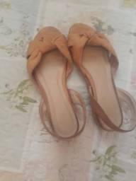 Sandalinha Bege