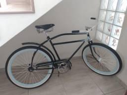 Bicicleta Vintage Frio contra Pedal