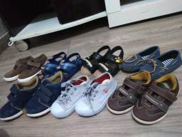 Sapatos masculinos infantis