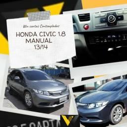 Honda Civic LXS 1.8 Manual 13/14 Não Consultora Score - 2014