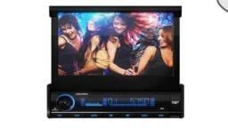 Dvd Automotivo Retratiu Dpa 3001 * 7-Polegadas