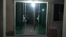Porta de vidro 8mm
