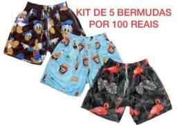 Bermuda moda praia