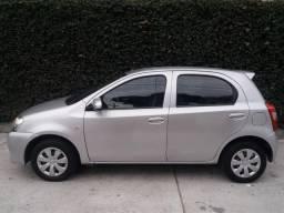 Toyota Etios x 1,3 Kit gnv, completo ipva 2019 pago - 2014