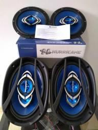Kit automotivo par alto-falante 6 polegadas + par de alto-falantes 6/9, usado comprar usado  Pinhais