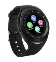 04dc3c93bbf Smartwatch Relógio Inteligente Bluetooth Chip Camera