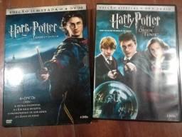Colecao livros Harry Potter + DVDs