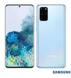 Samsung Galaxy S20+, S20 Plus, Azul, com Tela Infinita de 6,7, 4G, 128GB