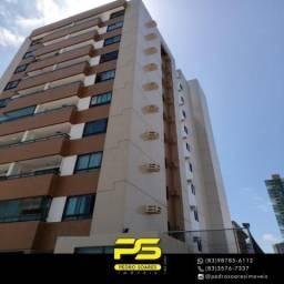 Apartamento com 2 dormitórios à venda, 62 m² por R$ 370.000 - Cabo Branco - João Pessoa/PB