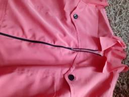 Conjunto de saia e jaquetinha