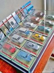 """Coleção """"Carros Nacionais"""" do jornal  Extra, de 2013 completa, carrinhos lacrados"""