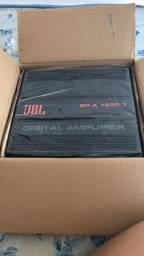 Vendo amplificador de som automotivo JBL original e Novo