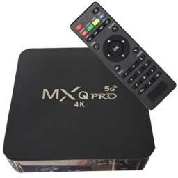 TV Box Mxq Pro 4k 5g novo - Entregamos e instalamos