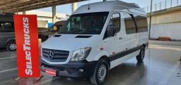 MB Sprinter 2018 VAN 415 CDI Teto Alto 15+1 Luxo SelecTrucks