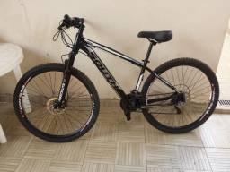 Bike Aro 29 MTB Tamanho 17 tudo Shimano