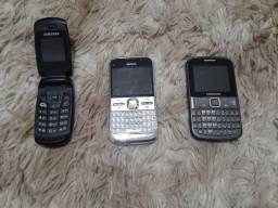 Nokias e samsung