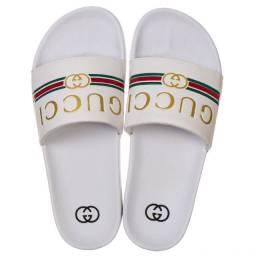 Sandália slide Gucci