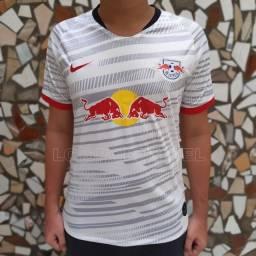 Camisa I RB Leipzig 19/20 Branca