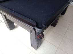 Mesa Madeira Redinha Cor Preta Tecido Preto Mod. VJFU7375