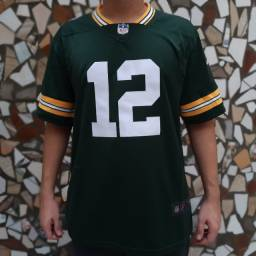 Camisa Green Bay Packers Verde (Rodgers 12)