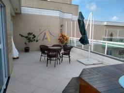 Linda vista para o mar, cobertura 5 quartos sendo 4 suítes, Braga, C. Frio