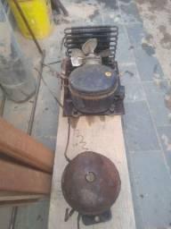 Motor de frezer 2 portas e geladeira se