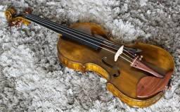 Violino Artesanal 4/4 Cópia Stradivari 1715 # 48