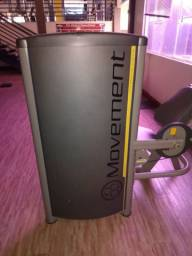 Máquina de abdominal movement.