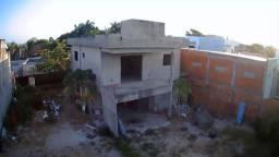 Casa duplex em construção no Araçagy