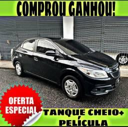 TANQUE CHEIO SO NA EMPORIUM CAR!!! PRISMA 1.0 LT ANO 2015 COM MIL DE ENTRADA
