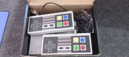 Video bame 8 bits 620 jogos e 2 controles