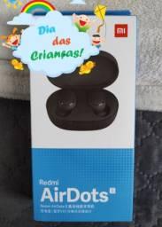 * O-FER-TA Air Dots da Xiaomi.. novo LACRADO com Garantia e Entrega hj