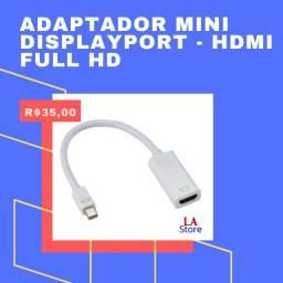 Adaptador mini DisplayPort - Hdmi Full HD