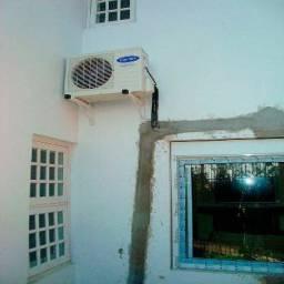 Instalação de ar condicionado e manutenção split